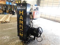 Danuser SM40 Skid Steer Mount Hammer Post Driver