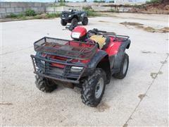 2014 Honda 500 4x4 ATV