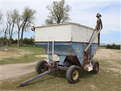 DMI 4 Wheel Grain Cart