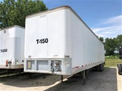 1986 Fruehauf T/A Enclosed Trailer