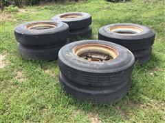 11R24.5 Tires On Dayton Style Wheels