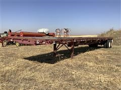 1992 Great Dane T/A Flatbed Trailer