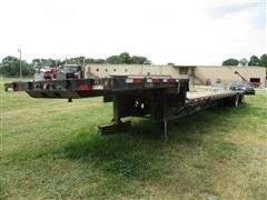 2011 Doonan Black Gold T/A Drop Deck Trailer