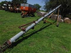"Hutchinson 47' X 8"" Portable Auger"