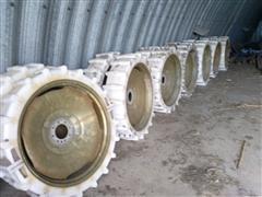 Mach II 11.2X38 Plastic Pivot Wheels