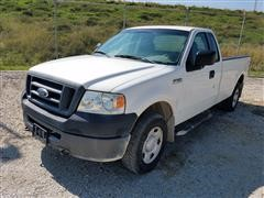 2008 Ford F150 4x4 Extended Cab Pickup w/Lift Gate