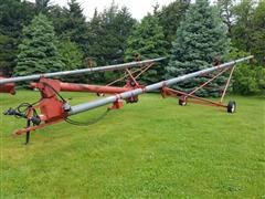 Peck 803-56 Auger W/Swing Out Hopper