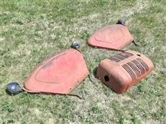 Massey Harris 33 Rear Fenders