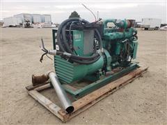 Onan 125.0 DYD-15R/11184A 125 KW Generator Powered By Diesel Engine