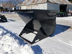 2019 Kit Container Dump Hopper Skid Steer Attachment