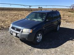 2001 Ford Escape XLT 4x4 SUV