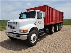 1990 International 4900 Quad/A Grain Truck