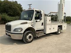 2008 Freightliner M2 4X2 Truck W/ Aluminum Flatbed