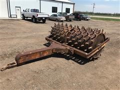Double Drum Pull Type Sheepsfoot Packer