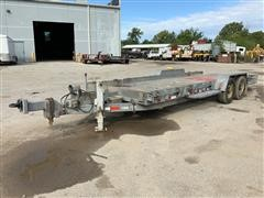 2011 Sauber 1580-TBA Tilt Bed Trailer