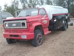 1978 Chevrolet C65 Fuel Truck (INOPERABLE)