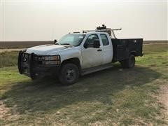 2013 Chevrolet 3500 2WD Extended Cab Pickup W/Stahl Service Bed