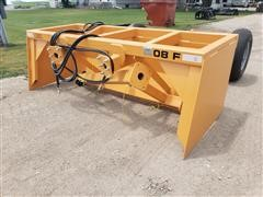 2020 Industrias America 08F 8' Wide Heavy Duty Tilt Box Scraper