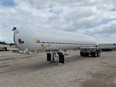 2003 Texas Trailer Corp AALP Trailer W/A 2001 Trinity Liquid Tank