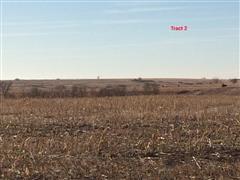 Tract #2:  322.36+/- Acres Frontier County, NE