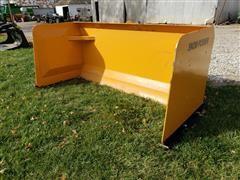 2018 Industrias America SP06 6' Wide Snow Pusher/Box Blade Skid Steer Attachment