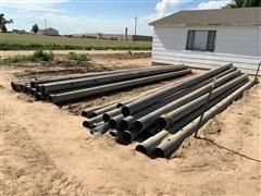 8' Aluminum Gated Irrigation Pipe