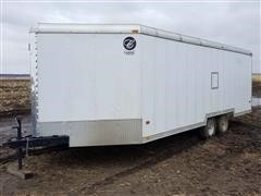 1998 Owens-Classic Navigator T/A Enclosed Snowmobile Trailer