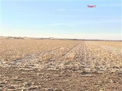 Tract #1:  400.3+/- Acres Gosper County, NE