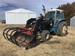 1979 Ford TW-10 2WD TRACTOR W/ TA46 WESTENDORF LOADER
