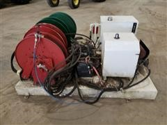 Electric/Hydraulic Power Source W/Retractable Hose Reels **NON-RUNNING**