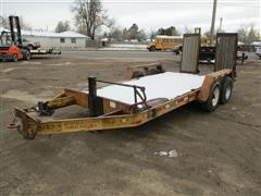 1978 Trail King T/A Flatbed Trailer