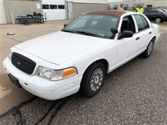 2004 Ford Crown Victoria Police Car