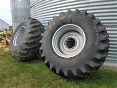 Firestone & Powermark 30.5L-32 Tires And Rims