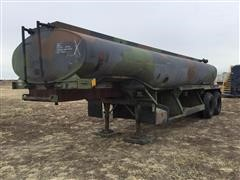 1993 Heil 5000-Gal Stainless Steel T/A Tanker Trailer