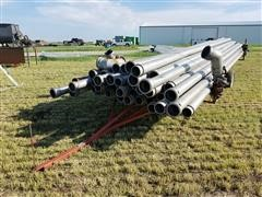 Irrigation Pipe & Pipe Trailer