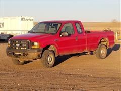 2006 Ford F250 XL Super Duty 4x4 Pickup Truck