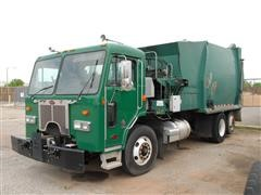 2009 Peterbilt 320 T/A Side Loader Garbage Truck