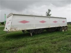 1997 Wheeler T/A Hopper Bottom Grain Trailer