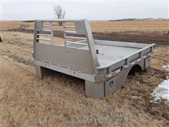 2017 Zimmerman Aluminum Truck Flatbed
