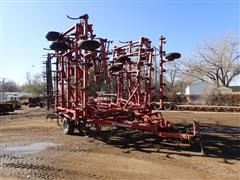 Case IH 4300 46' Field Cultivator W/4-Bar Spike Tooth Harrow