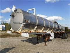 1979 Acro 5000 Gallon Stainless Steel T/A Tanker Trailer