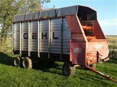 Gehl BU980 Chopper Box & Wagon