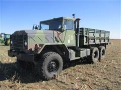 1984 American General 923 T/A Flatbed Truck