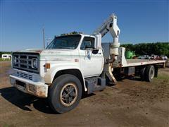 1983 GMC TC 7D042 4.5 Ton Utility Truck