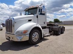 2010 Peterbilt 384 Day Cab T/A Truck Tractor