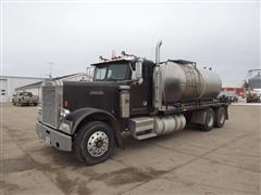 1986 Freightliner FLC120 T/A Tanker Truck