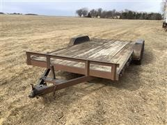 2004 C&H 18' T/A Flatbed Trailer