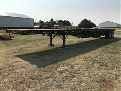 1990 Great Dane 48' T/A Flatbed Trailer