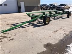 John Deere 25 Header Trailer On 965 Gear