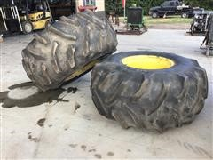 Goodyear 28L-26 Tires And Rims